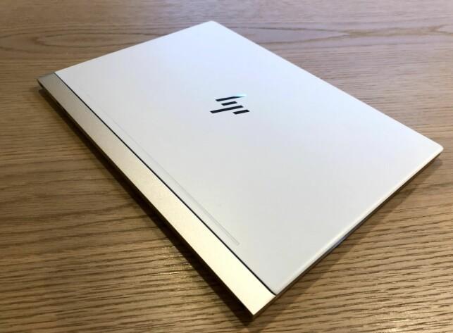 STERKT: HP har brukt sterke og lette materialer i kabinettet. Foto: Bjørn Eirik Loftås