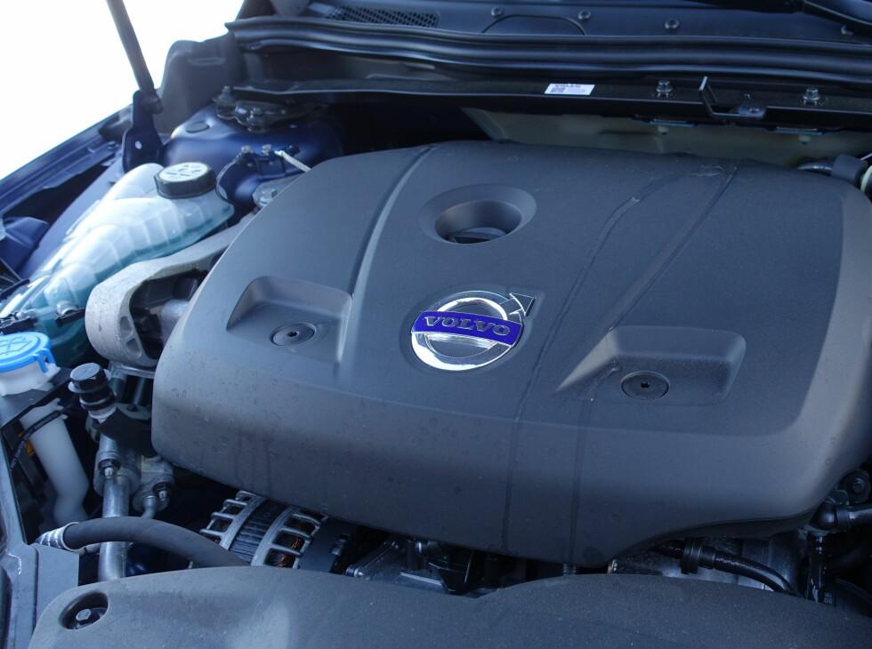 NY MOTOR: T5 har fått den nye motoren som skal puttes i alle Volvoer i fremtiden - i mange effektvarianter. Foto: RUNE M. NESHEIM