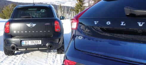 Mini Countryman eller Volvo V40 CC?