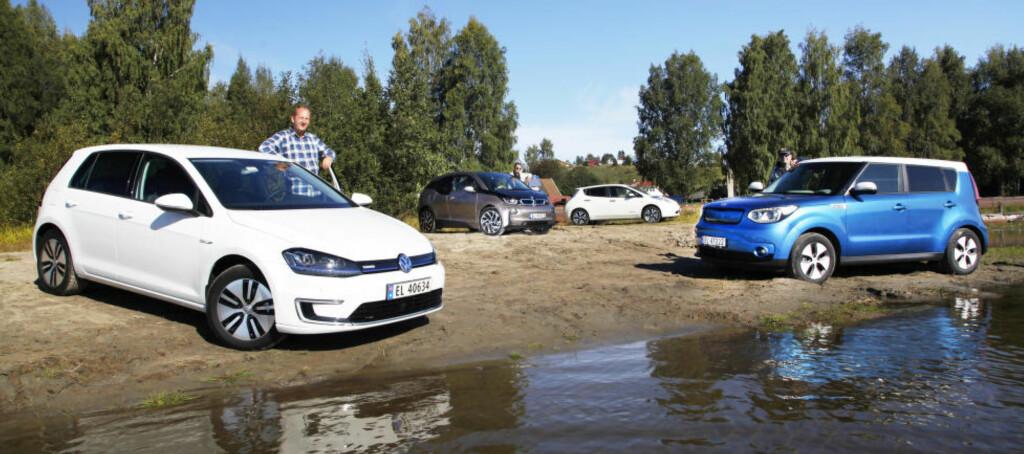 <b>STORSELGERE:</b> Dette knippet med biler vil stå for store deler av neste års bilsalg.  Foto: Espen Stensrud