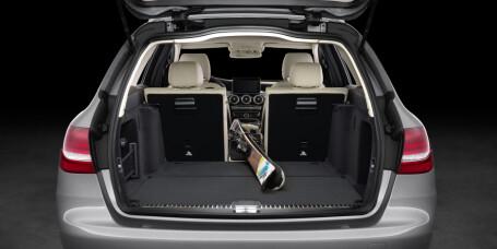 Nyhet: Mercedes-Benz C-klasse stasjonsvogn.