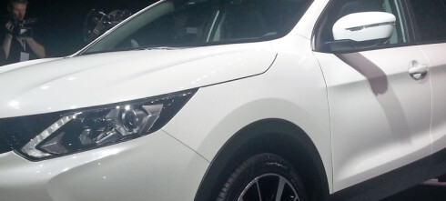 Nissan Qashqai helt avduket