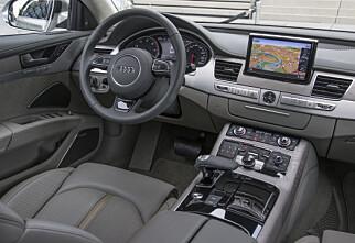 Vi har kjørt fornyet Audi A8