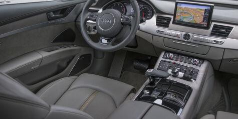 image: Vi har kjørt fornyet Audi A8
