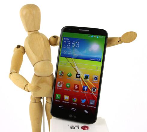 G2 har det som skal til for at LG skal kunne gi Samsung og de andre Android-produsentene hard konkurranse i tiden fremover.  Foto: Kirsti Østvang