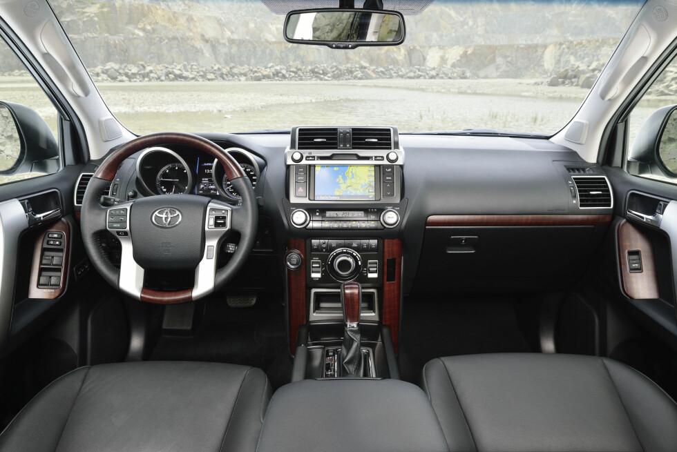 Land Cruiser 150 kommer i forfinet utgave, med mer utstyr og litt endret utseende.  Foto: Produktbilde