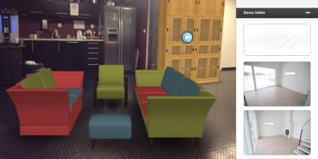 IKEA-app vs. Fagmøbler-app