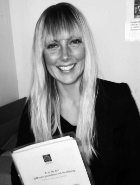 Oppdaget på Twitter: Mikaela Hansson har fått god uttelling av å være aktiv i sosiale medier.  Foto: REINERTSEN