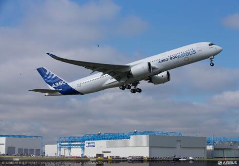 SAS har valgt Airbus A350 XWB til sine langdistanseflyvninger. Foto: Airbus