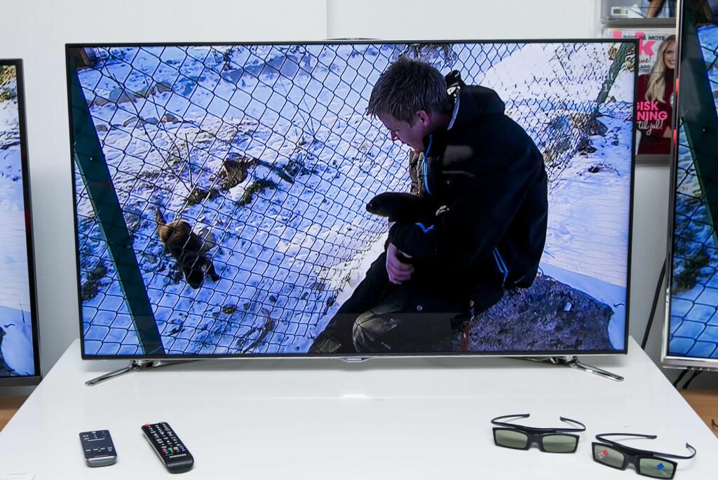 Når Samsung gjør så mye riktig er det ikke mye å klage over.  Foto: Per Ervland