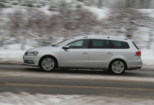 KLASSISK: VW Passat - 7. generasjon (også kalt generasjon 6 1/2). Foto: Fred Magne Skillebæk