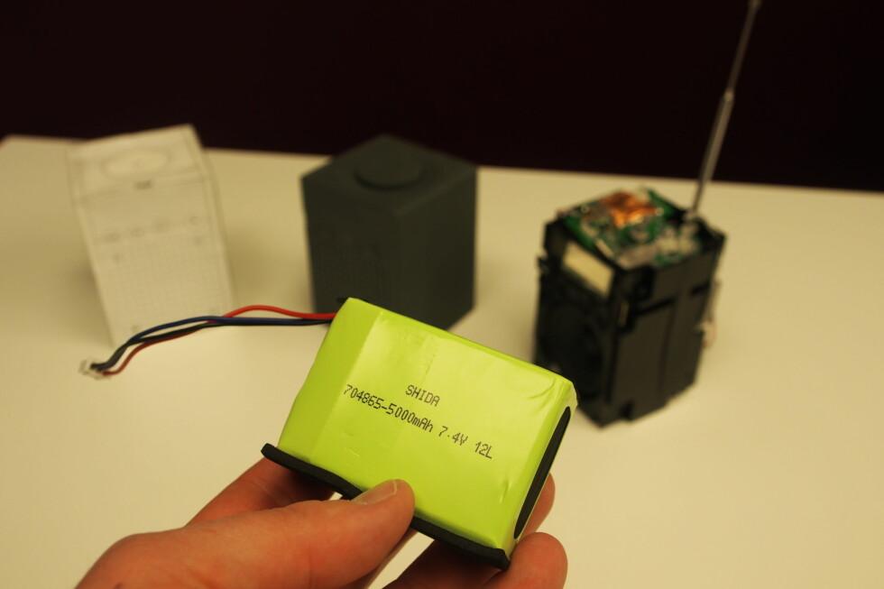 Og kanskje våre favoritt: Det glimrende batteriet. Foto: Øyvind Paulsen