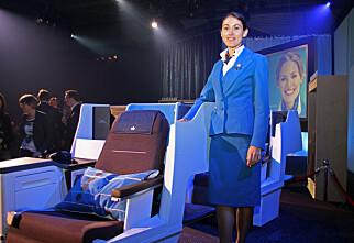 Nye liggeseter hos KLM