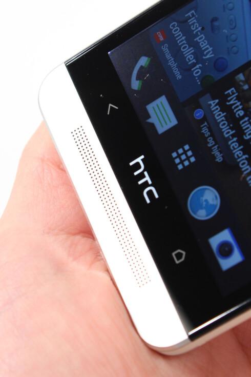 "IKKE FOR ALLE: DinSide vil ikke gi HTC One ""Anbefalt produkt""-stempel og terningkast seks, når batteritiden er såpass dårlig.  Foto: Ole Petter Baugerød Stokke"