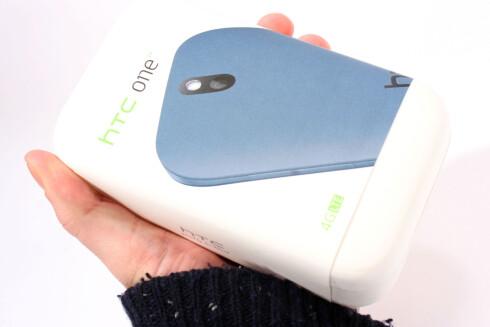 <strong>HTC ONE SV:</strong> En god telefon, men ikke en spesielt god deal ennå. Foto: Ole Petter Baugerød Stokke