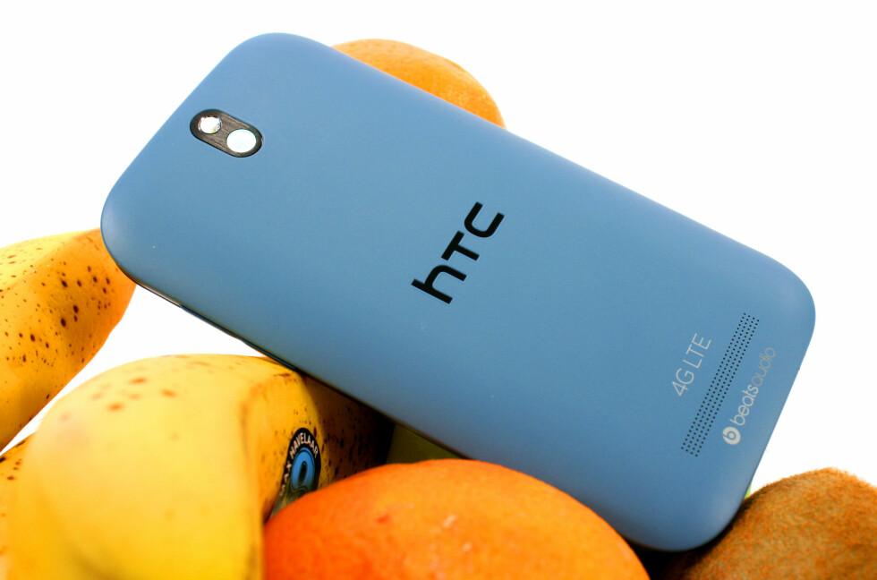 <strong>SAFTIG:</strong> HTC One SV ser svært bra ut, selv om fargene ikke lyser fruktfat på samme måten som for eksempel Nokia Lumia 920.  Foto: Ole Petter Baugerød Stokke