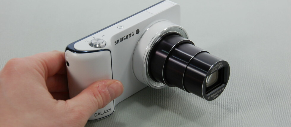 Samsung Galaxy Camera har god vidvinkel, 21x optisk zoom og kjører siste versjon av Android.