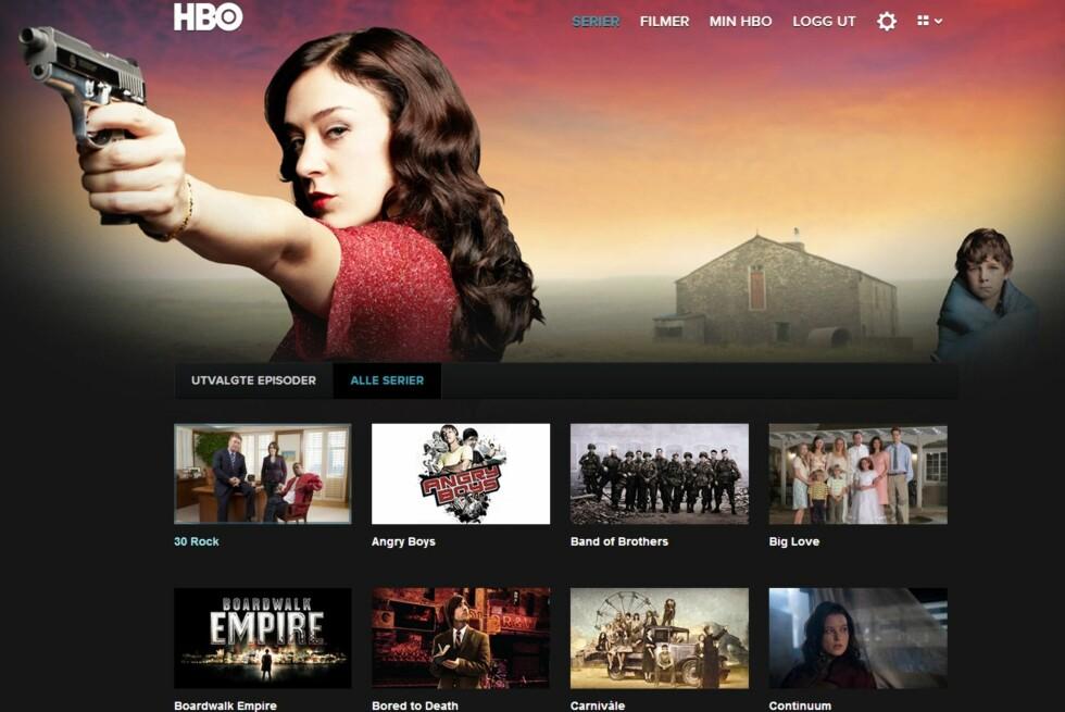Seriemesteren HBO rulles i disse dager ut til norske kunder, men foreløpig kan den norske videobransjen puste lettet ut. Foto: Skkjermdump/Øyvind P