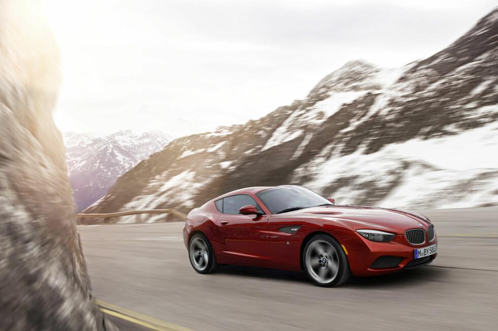 BMW Zagato Coupé er registrert for bruk på vei og kan by på heftige linjer av typen som markerer en bil som en fremtidig klassiker.