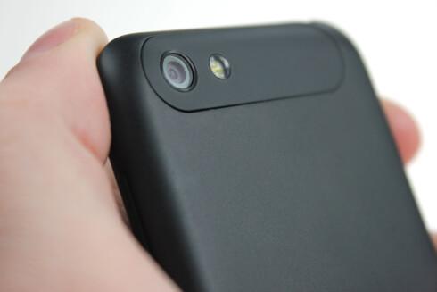 GODT: Kameraet hos HTC One V er ikke like bra som hos storebrødrene, men det duger til det meste.  Foto: Ole Petter Baugerød Stokke