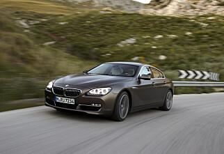 BMW 6-serie Gran Coupe på plass