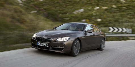image: BMW 6-serie Gran Coupe på plass