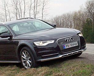 image: PRØVEKJØRT: Nye Audi A6 allroad