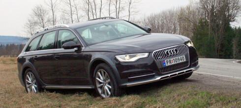 PRØVEKJØRT: Nye Audi A6 allroad