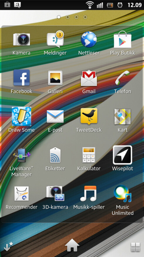 FINT: På sitt beste er Sony Xperia S sin Android pen og ren.