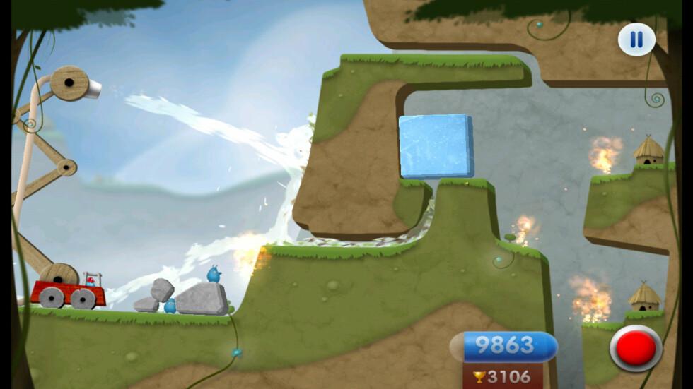 NYDELIG: Spill som Sprinkle ser flott ut i 720p-oppløsning på Sony Xperia S. Også på TV-en, med HDMI-ut.