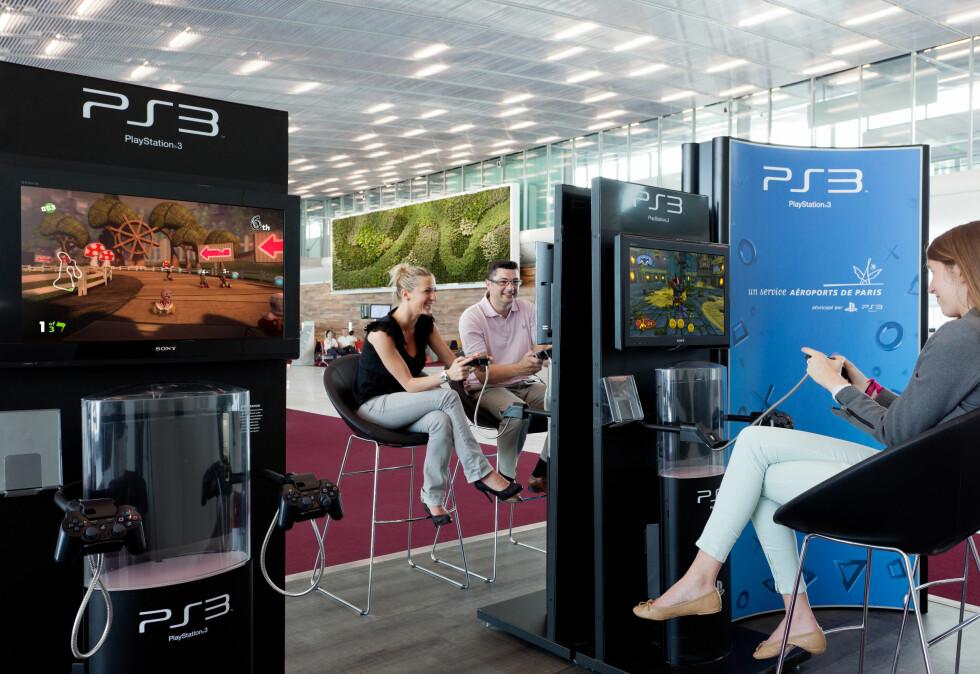 PlayStation-område. Foto: www.seignettelafontan.com