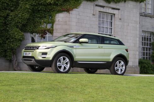 Range Rover Evoque er blitt tatt imot med åpne armer.   Foto: Fred Magne Skillebæk