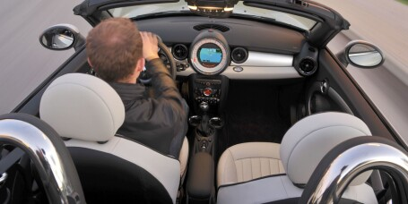 Prøvekjørt: Mini Roadster Cooper S