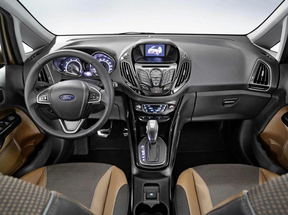 Interiøret, slik det er presentert i konseptbilen. Produksjonsversjonen er ventet å bli omtrent det samme.