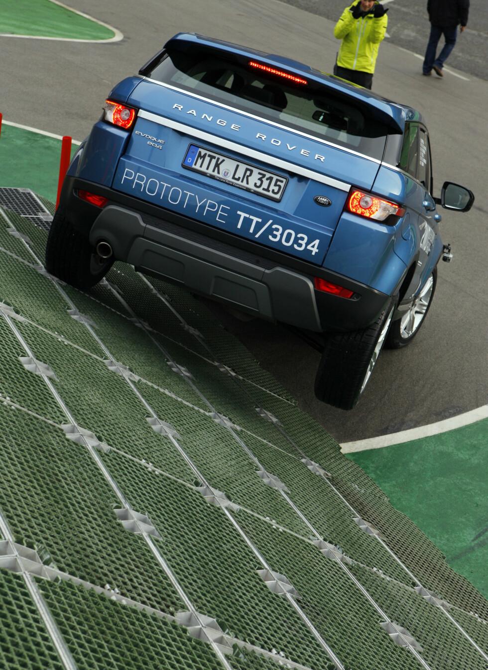 Foto: Bilde tatt av Land Rovers fotograf