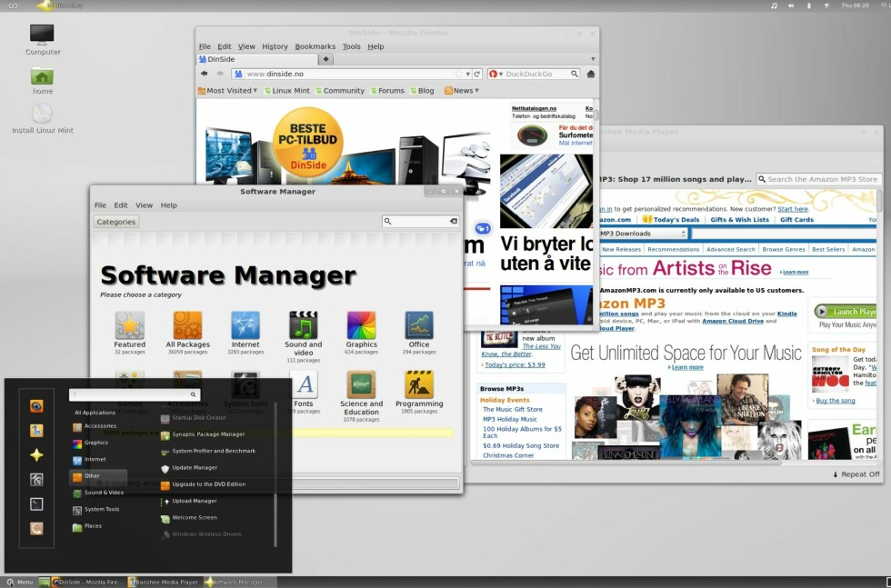 Linux Mint 12 er lekrere og enklere enn noen gang, mener vi.