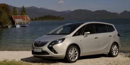 En ny Opel Zafira på vei