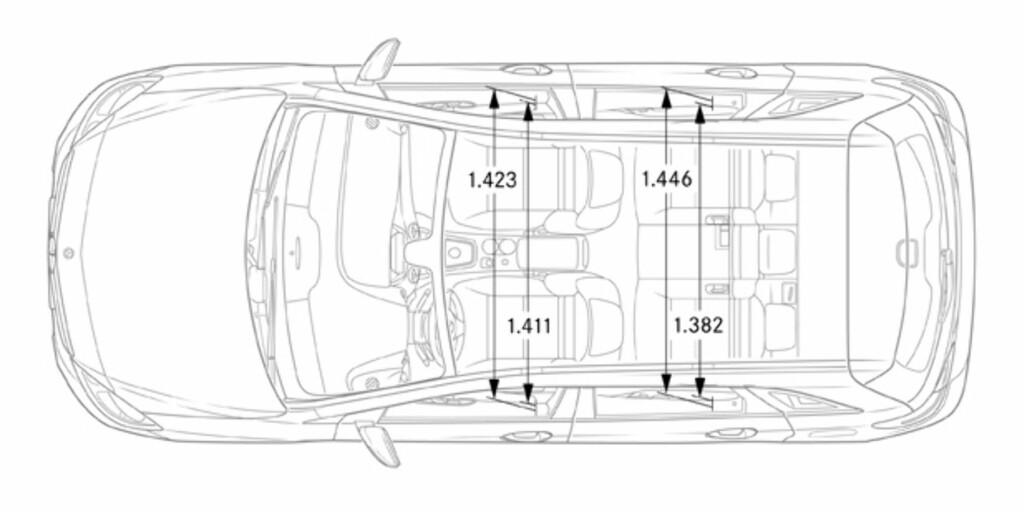 image: Mercedes B-klasse innfrir