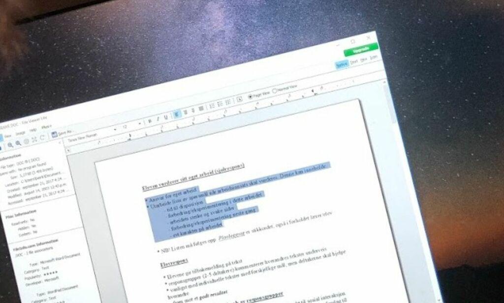 image: Glem de gamle Windows-programmene: Slik får du lest filen