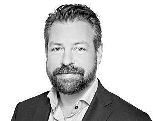 John Eckhoff, pressesjef i Posten Norge AS. Foto: Posten.