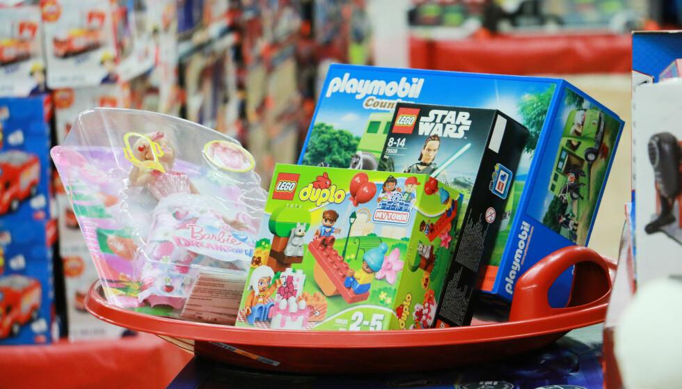 LEKETØY TIL JUL?: Du trenger ikke å storhandle julegaver til barna på harryhandel. Foto: Kristin Sørdal