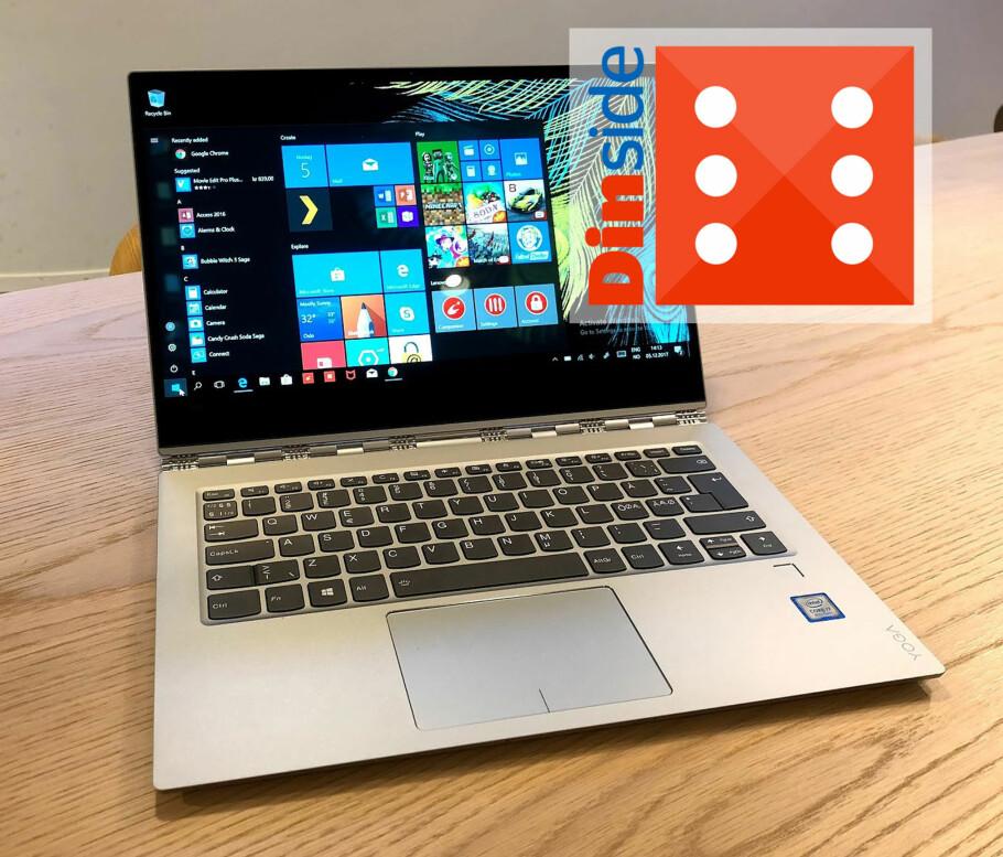 VELLYKKET: Lenovo Yoga 920 er den kraftigste og beste 2-i-1 PC-en vi har testet. Foto: Bjørn Eirik Loftås