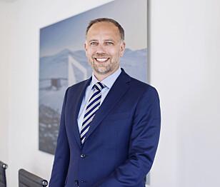 Christian Vammervold Dreyer, administrerende direktør i Eiendom Norge. Foto: Solfrid Sande.