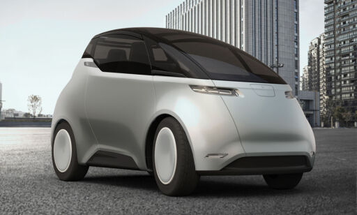 image: Den svenske elbilen er som tatt ut av fremtiden