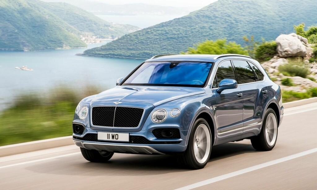 LUKSURØS: Bentley Bentayga har det meste markedet kan by på. Foto: Bentley