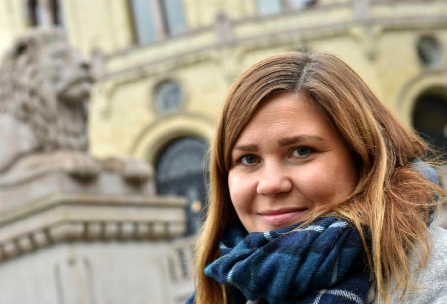 FYLL OPP: Hanna Folkvord, finansrådgiver i DNB, råder deg til å sette inn pengene du ønsker i BSU så fort som mulig. Foto: Thomas Strzelecki.