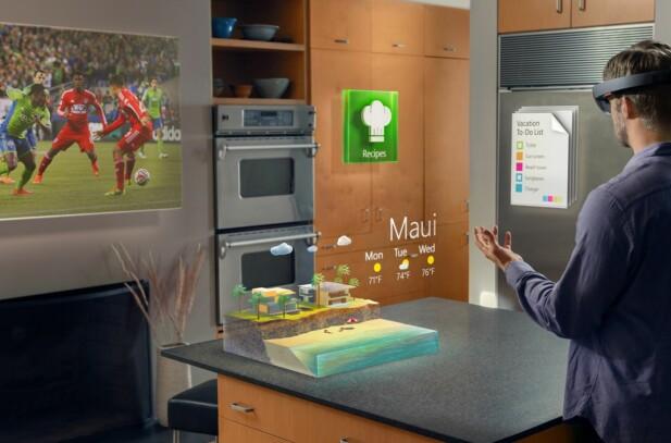 <strong>AR:</strong> En vanlig misforståelse er at Mixed Reality er det samme som AR, men det er det ikke. Foto: Microsoft