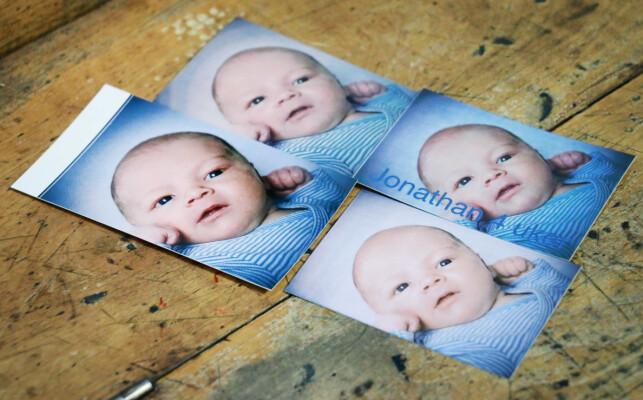 KODAK KLART BEST: Det er ingen tvil om at Kodak Mini 2 skriver ut de beste bildene. Fra venstre mot klokka er bilder skrevet ut med henholdsvis Kodak Mini 2, Polaroid Zip, Lifeprint og HP Sprocket. Foto: Ole Petter Baugerød Stokke