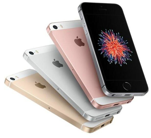 MINSTEMANN: iPhone SE. Foto: Apple