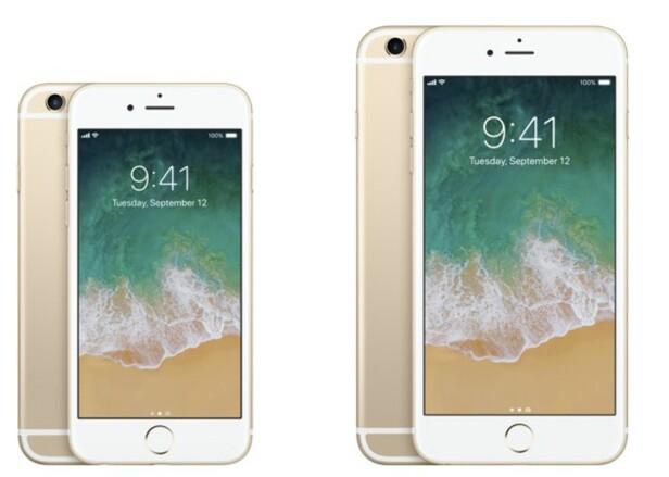 TRAVER: 6S og 6S Plus er godt over to år gamle, men fortsatt gode mobiler. Foto: Apple